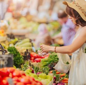 Mercado semanal de Pals