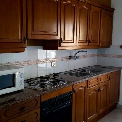 Cocina de los apartamentos Interpals