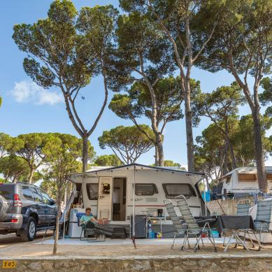 Parcel·la a Camping & Bungalows Interpals, Catalunya