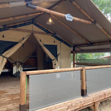 Tiendas de campaña de alquiler Camping & Bungalows Interpals