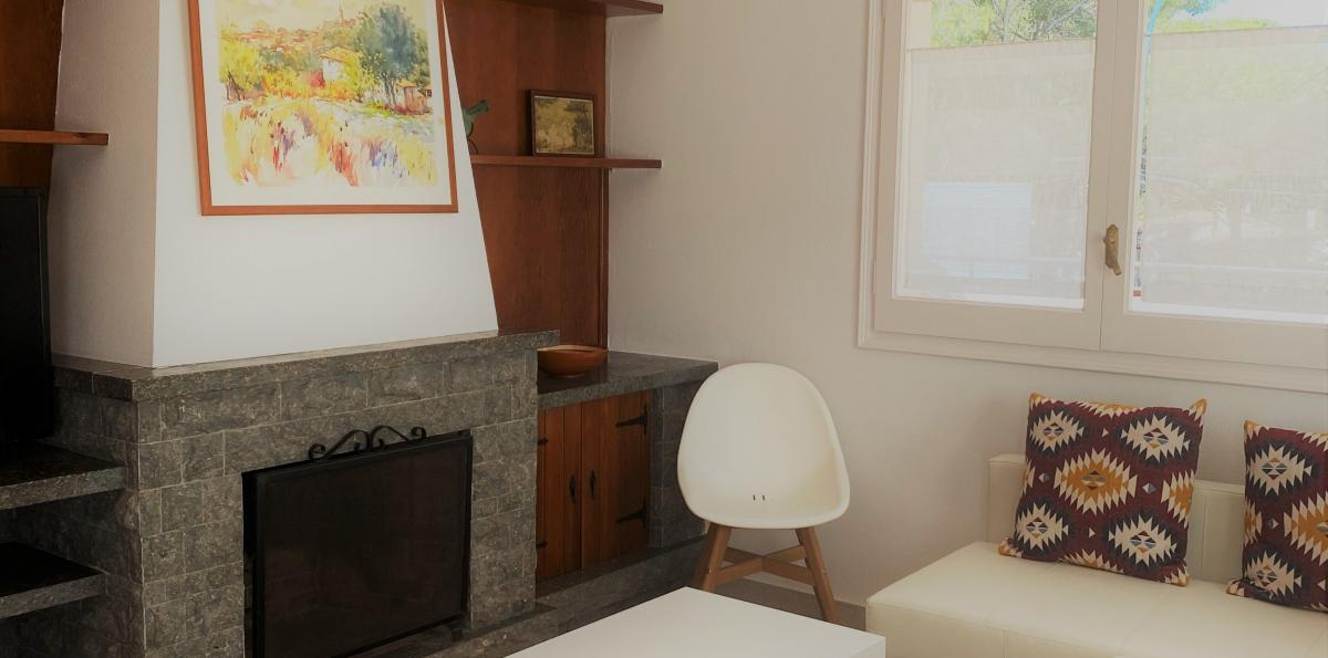 Campsite apartments lounge