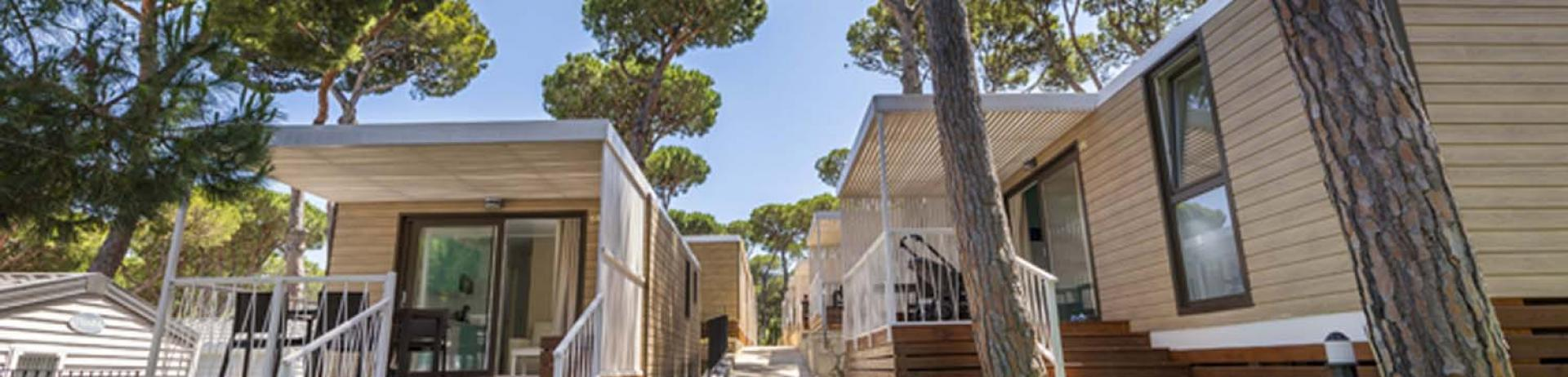 Camping with bungalows on the Costa Brava