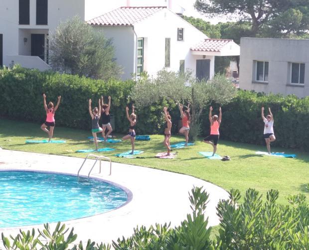 Cours de yoga au Camping & Bungalows Interpals