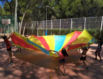 Jocs per a nens al Camping Bungalows Interpals