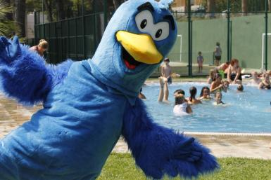 The mascot of Camping Bungalows Interpals