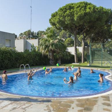 Aquagym al Camping & Bungalows Interpals