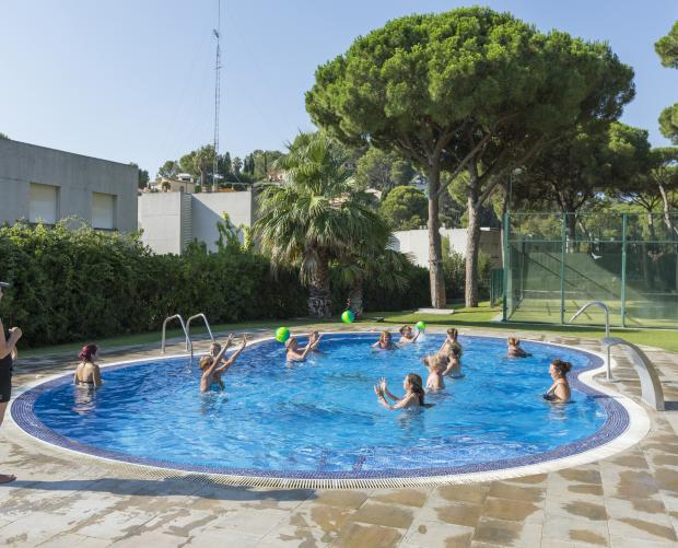 Aquagym in Camping Interpals