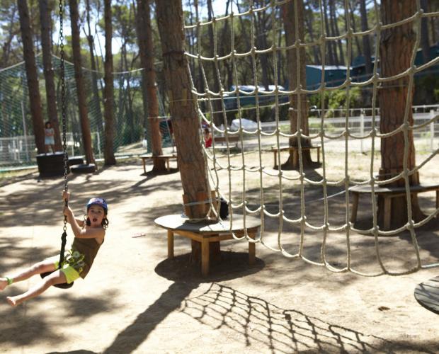 Camping speeltuin