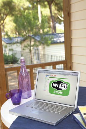 Camping with wifi