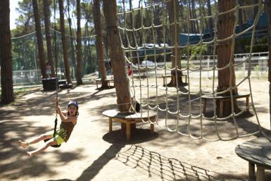 Mini parc d'aventures a Pals