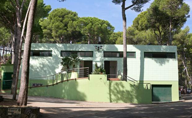 Edifici del Camping Bungalows Interpals