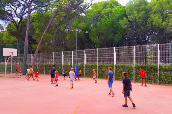 Zona esportiva del Camping Bungalows Interpals