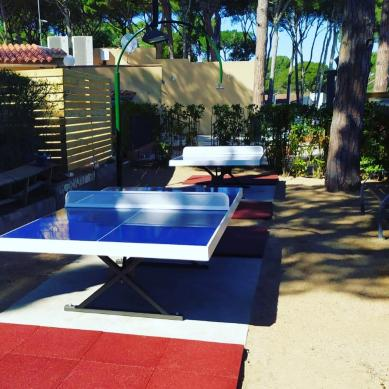 Ping pong zona deportiva