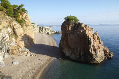 Pals Beach: natuurlijke omgeving van Pals