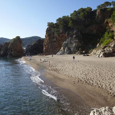 Playas tranquilas de Pals
