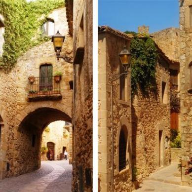 Pals, un pueblo medieval