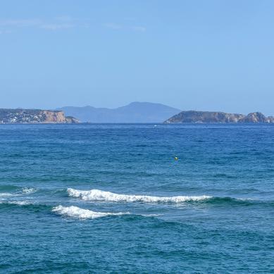 Vistas del mar desde Pals
