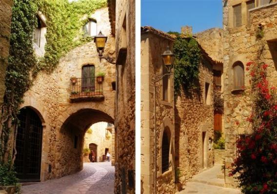 Pals: Pueblo medieval de la Costa Brava