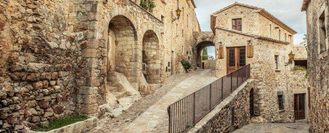 Oude binnenstad van Pals, Costa Brava