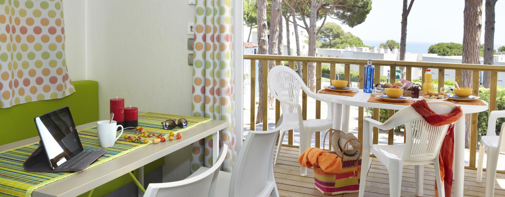 Bungalow Garbí of Camping & Bungalows Interpals in Spain