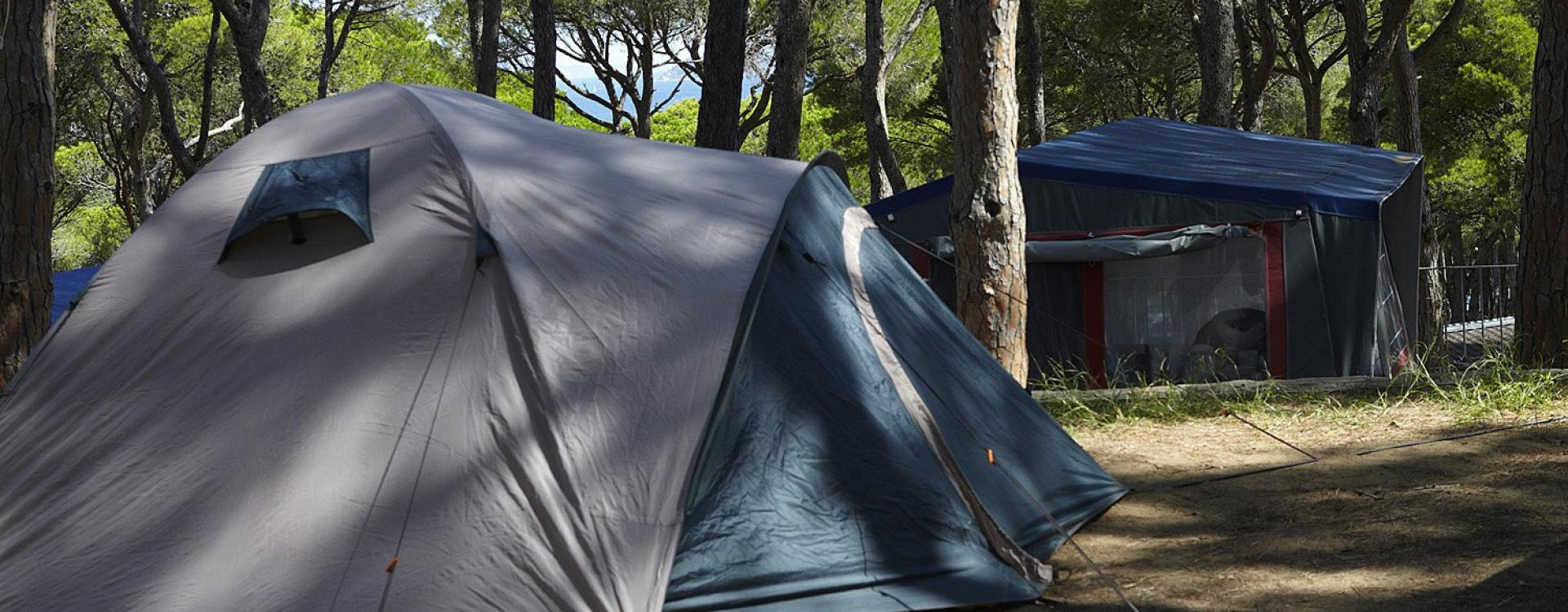 Tent op Camping Interpals - Costa Brava