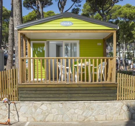 Bungalow Garbí del Camping & Bungalows Interpals a la Costa Brava