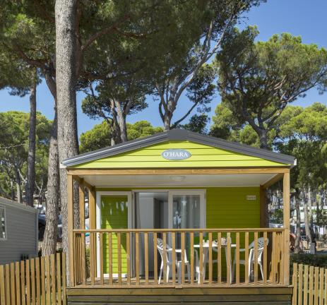Extérieur du Bungalow Garbí - Camping & Bungalows Interpals
