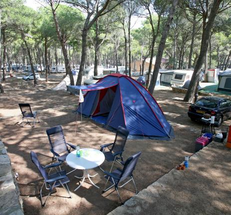 Pitches of Camping Interpals in Pals