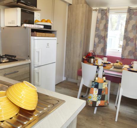 Keuken van de Bungalow Llevant