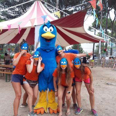 Grup d'animació de Camping & Bungalows Interpals