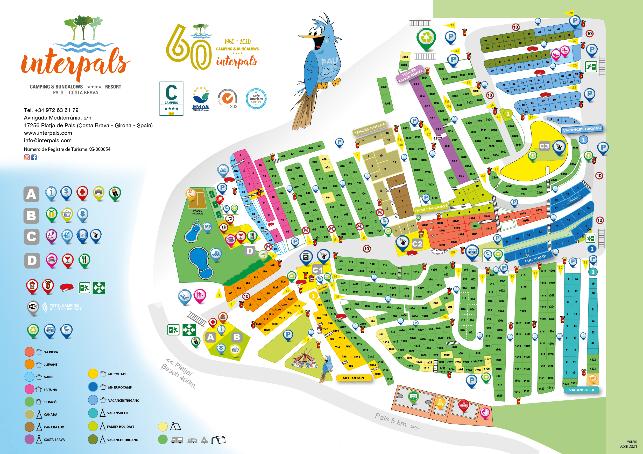 Map of Camping Interpals
